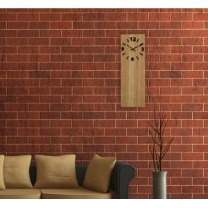 Nástěnné hodiny z bambusu
