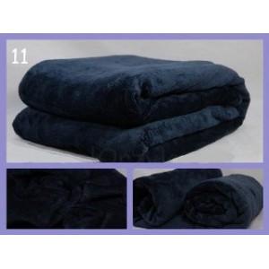 Luxusní deky z mikrovlákna rozměr 160 x 210cm grafit č.11