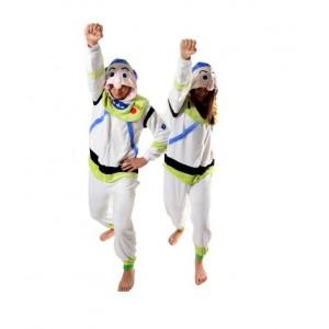Pohodlné pyžamové overaly kigurumi s motivem astronauta