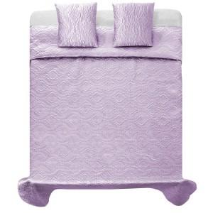 Elegantní světlo fialové přehozy na postel