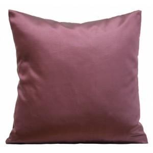 Tmavě levandulový dekorační povlak na polštář 40x40