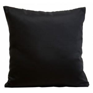 Elegantní ozdobné návleky na polštář černé barvy