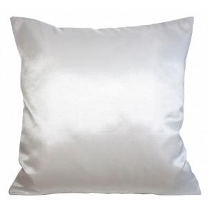 Elegantní bílý dekorační povlak na polštář