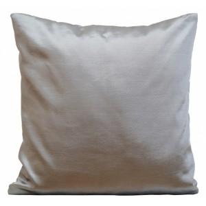 Lesklé ocelově šedé dekorační povlaky na polštáře