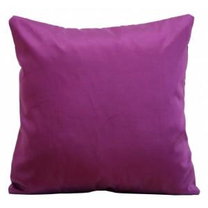 Luxusní fialový povlak na polštář k přehozem