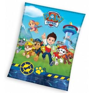 Pohádková deka pro děti Paw Patrol