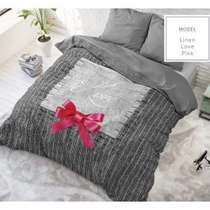 Luxusní bavlněné ložní povlečení z bavlny s romantickým motivem