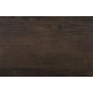 Tmavě hnědé prostírání na stůl dřevěný motiv