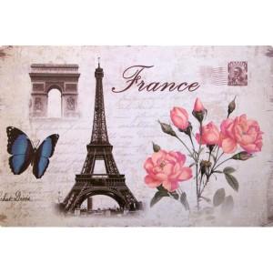 Francouzské prostírání na kuchyňský stůl