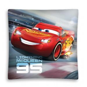 McQueen dětský povlak na polštář s rozměrem 40x40