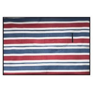 Kvalitní červeno modré piknikové deky