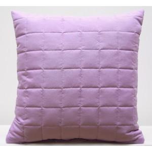 Světle fialový dekorační povlak na polštář