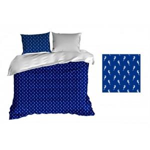 Povlečení na postel bavlněné s mořským motivem