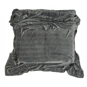 Levné deky šedé barvy