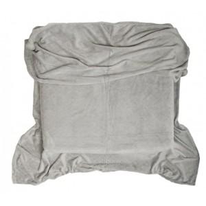 Hřejivá deka šedá