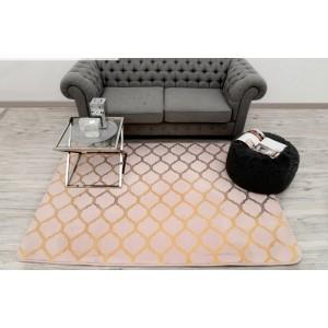 Kusové koberce do obýváku jednobarevné