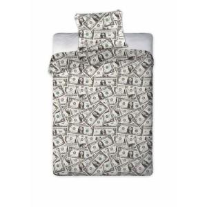Bavlněné povlečení s dolary