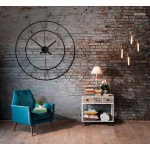 Designové a luxusní nástěnné hodiny kulaté