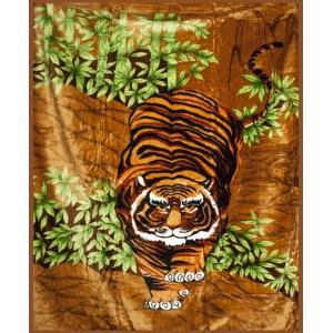Teplé deky s tygrem