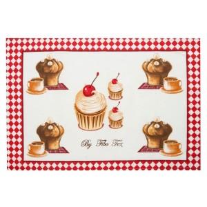 Kuchyňské utěrky s muffiny