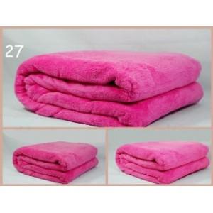 Teplé španělské deky růžové barvy
