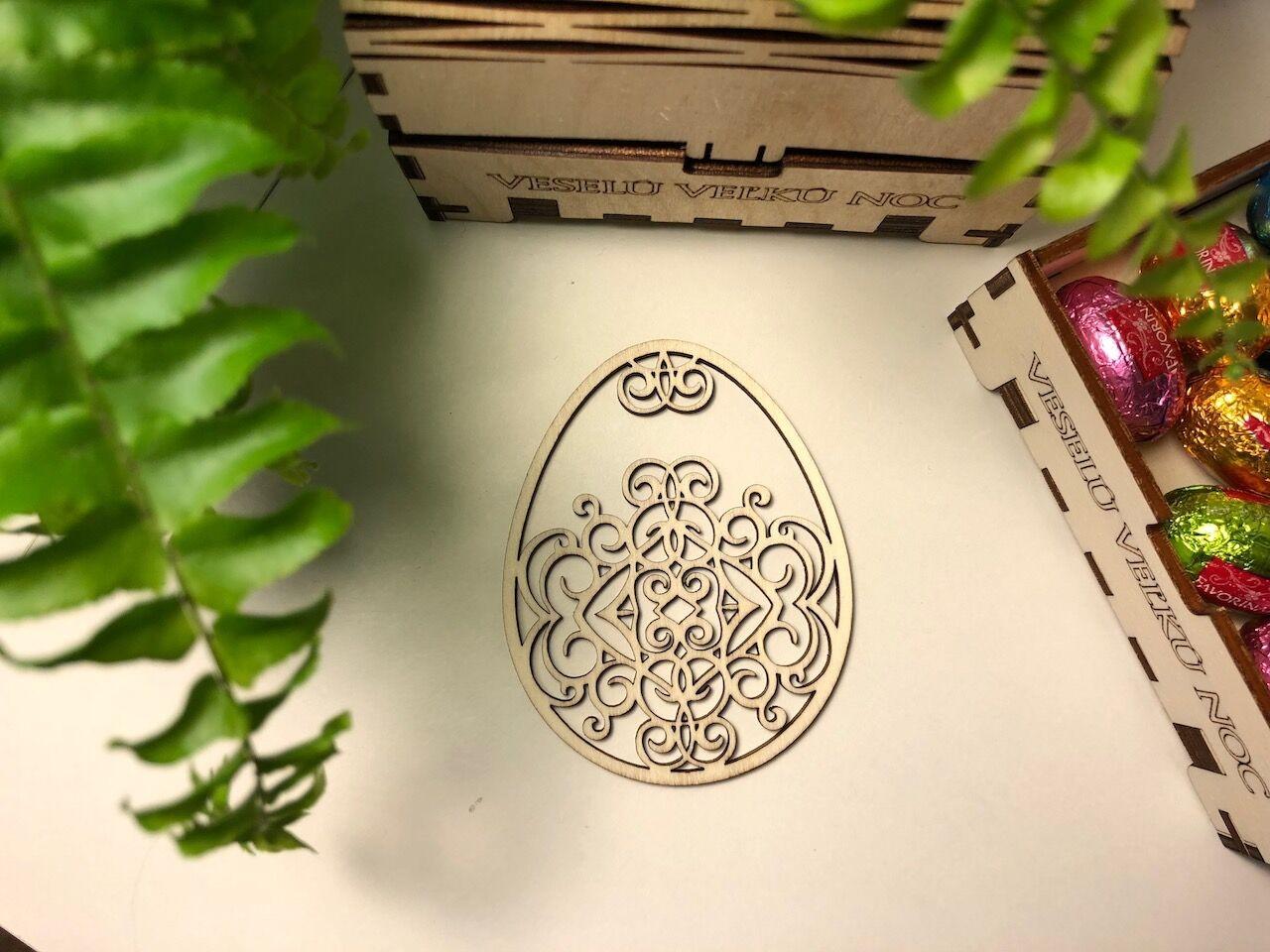 Velikonoční kraslice dřevěné