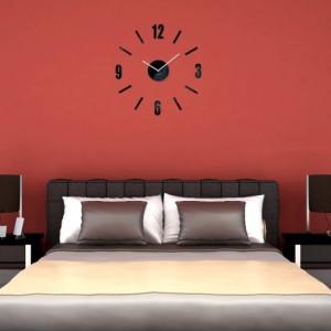 Nalepovací hodiny nástěnné do obývacího pokoje