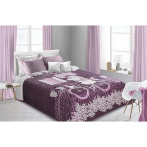 Moderní přehozy na postele oboustranné