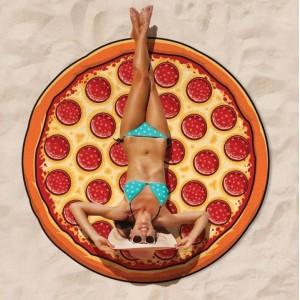 Extra velká plážová osuška PIZZA