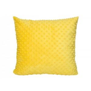 Povlak na polštář ve žluté barvě