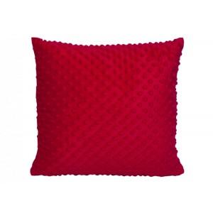 Povlak na polštář 40x40 červený