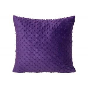 Povlak na polštář fialový 40 x 40 cm