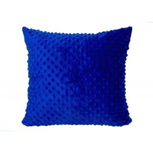 Povlak na polštář modrý 40x40
