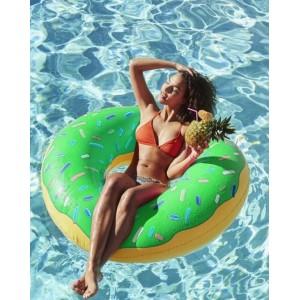 Nafukovačky na vodu zelený donut