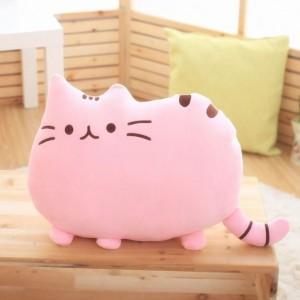 Polštář kočka růžová
