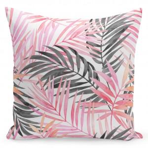 Povlaky na polštář s růžovým motivem