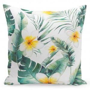 Povlaky na polštáře se vzorem květin