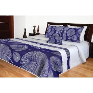 Přehoz na postel dvoulůžko s potiskem