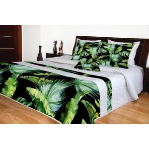 Přehoz přes postel s přírodním vzorem