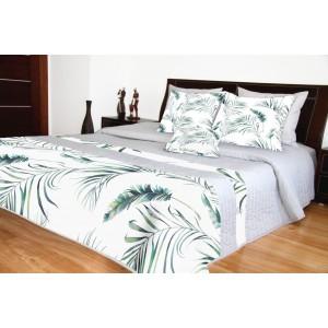 Přehozy na postel s jemným designem listů