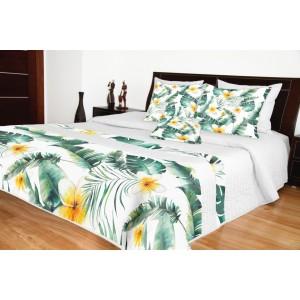 Pléd na postel s květy