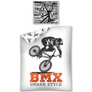 Moderní povlečení pro chlapce BMX Urban Style