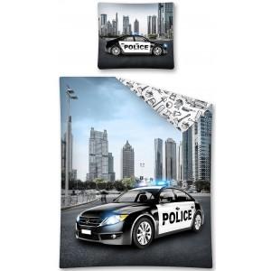 Moderní povlečení na postel pro kluky s policejním autem