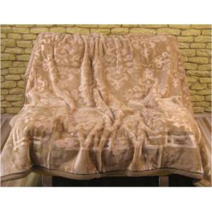 Měkké a teplé luxusní deky jasně hnědé barvy