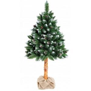 Vysoký vánoční stromek s kmenem 220 cm