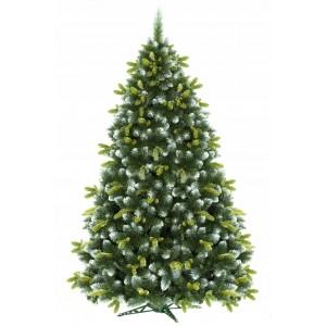 Vysoký hustý vánoční stromeček borovice 220 cm