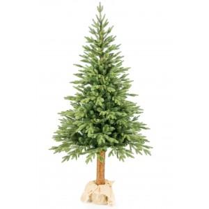 Vánoční stromek 3d smrk s kmenem