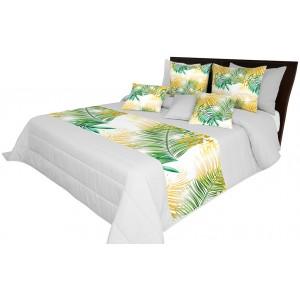 Potah na postel s motivem palmových listů
