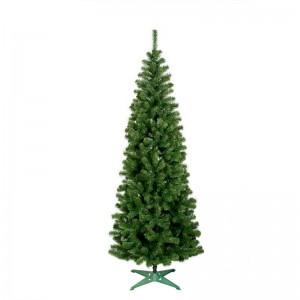 Úzký vánoční stromek s krátkými větvičkami