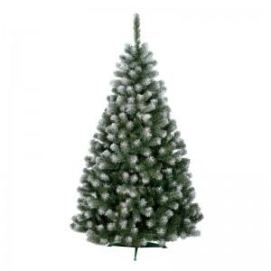 Vánoční stromek jedle s imitací sněhu